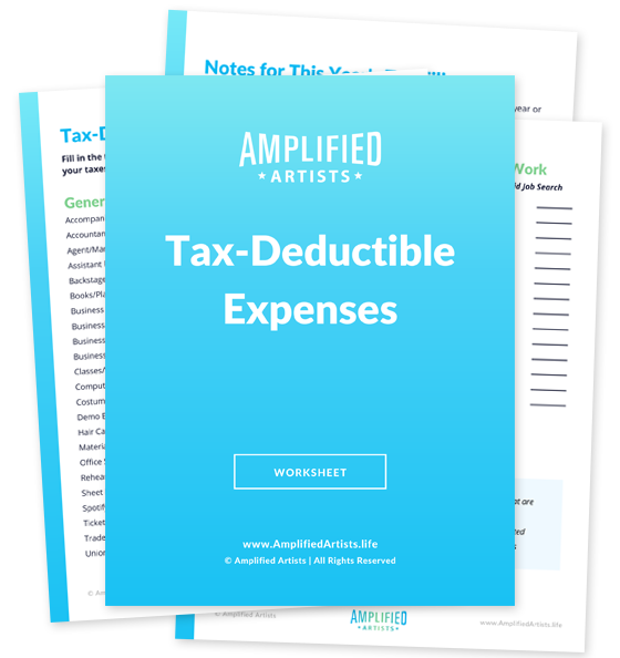 Tax-Deductible Expenses Worksheet